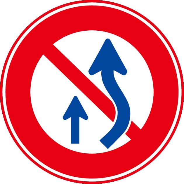 はみ出し追い越し禁止の解説!歩行者や軽車両の対処方法